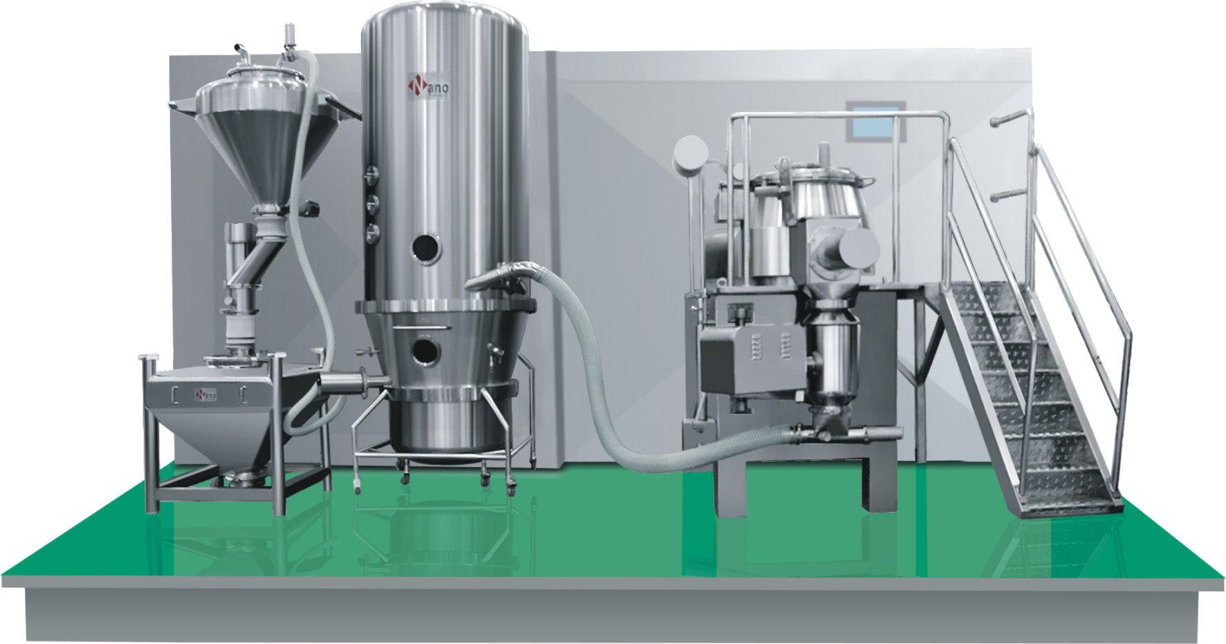 实验室流化床干燥机_CCS高密闭实验室湿法制粒机,流化床沸腾干燥机-制粒混合干燥设备 ...
